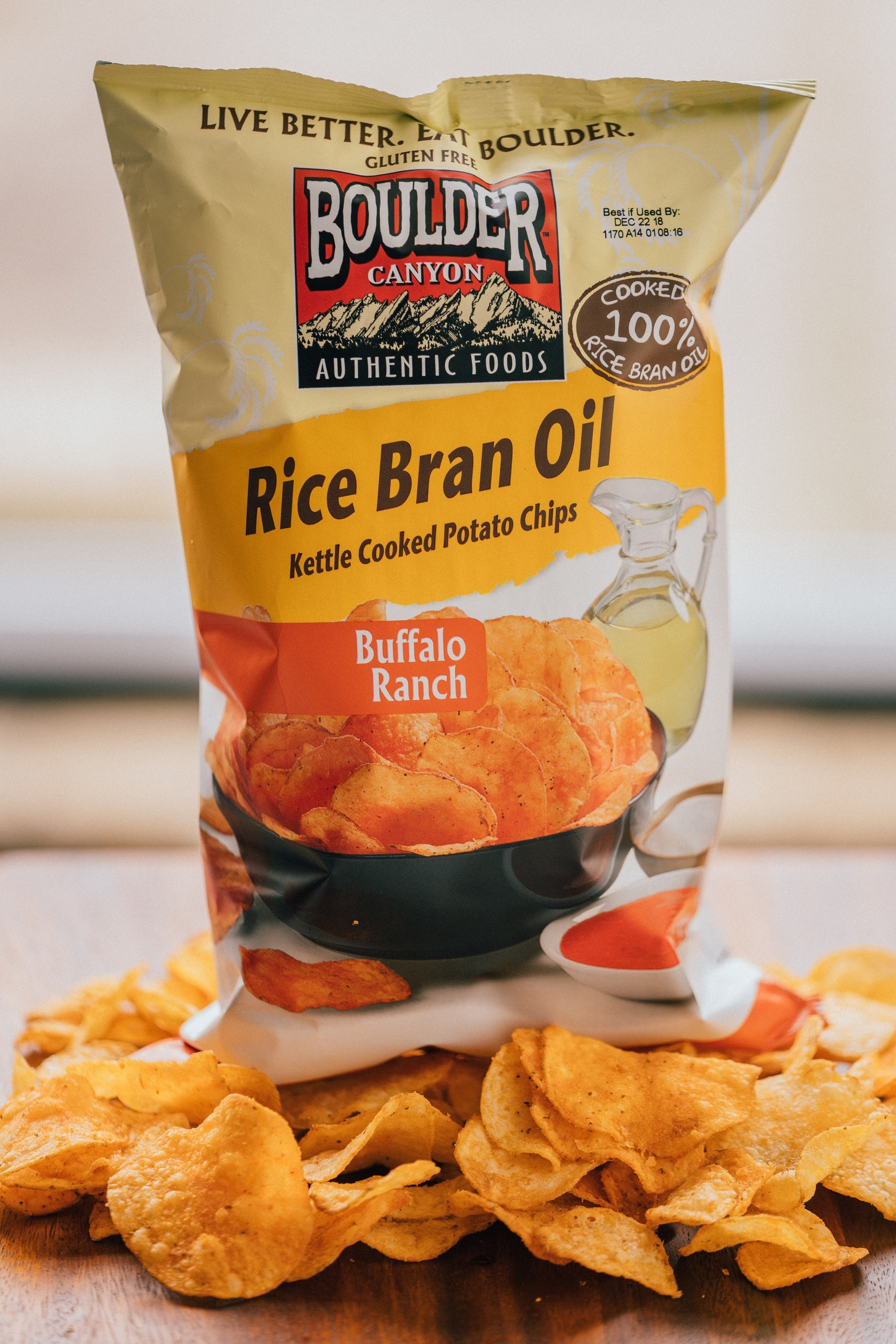 Boulder Canyon Releases Buffalo Ranch and Sweet Chipotle Rice Bran Kettle Cooked Potato Chips