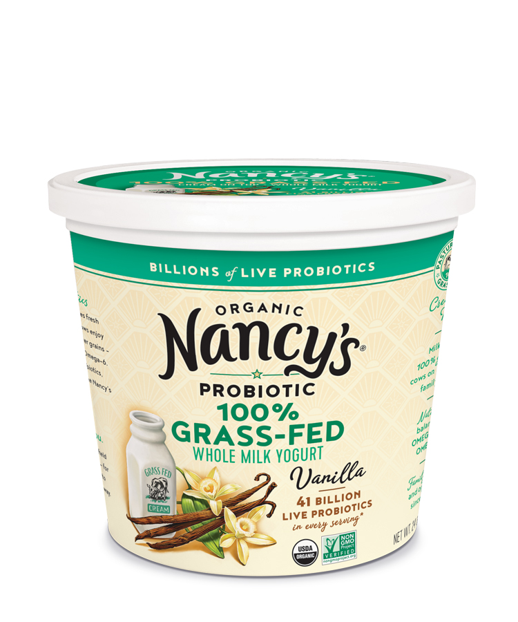 Nancy's Probiotic Foods Launches Organic 100% Grass-Fed Yogurts