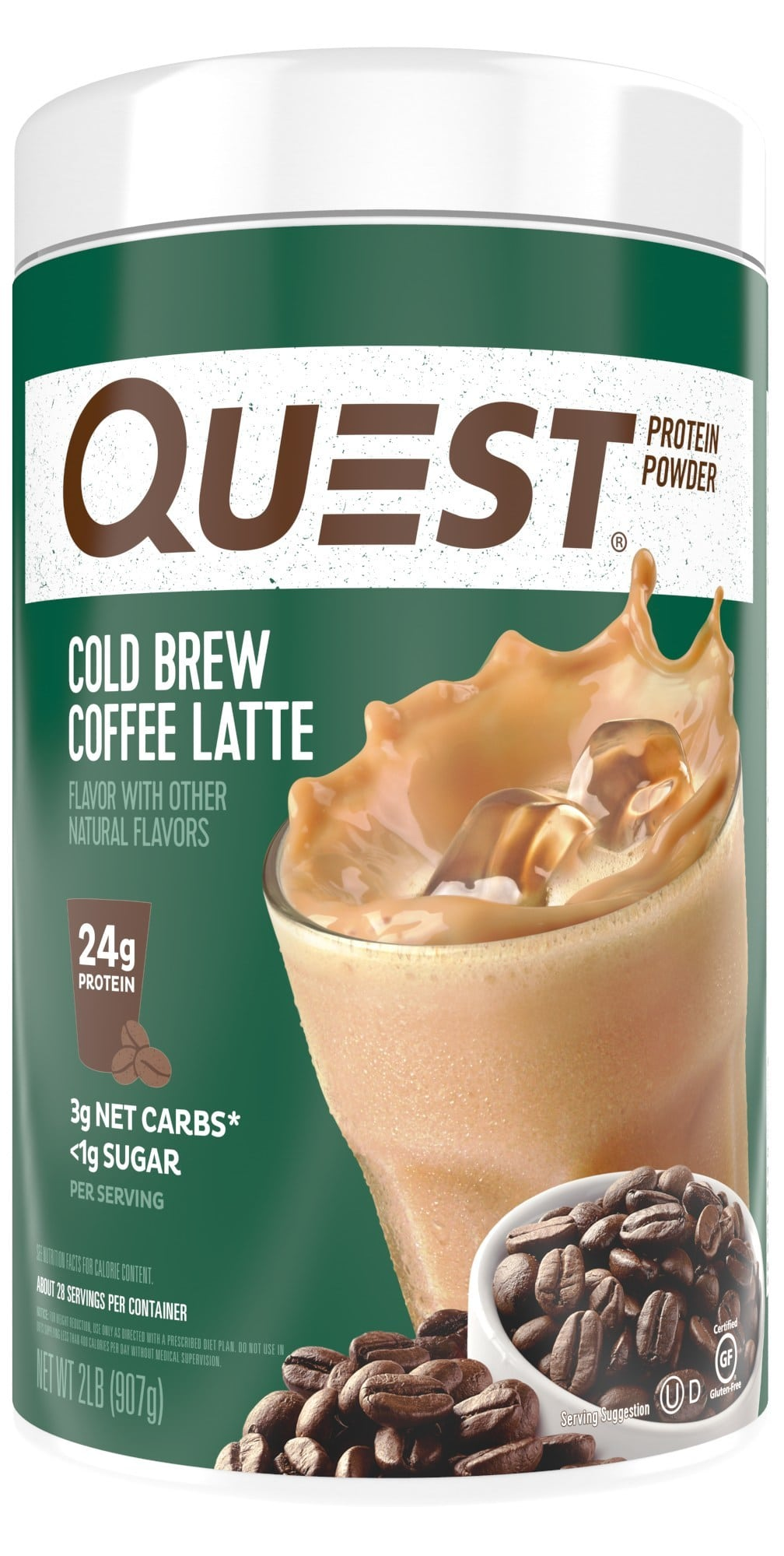 Quest Nutrition Releases Maple Waffle Protein Bar and Cold Brew Coffee Latte Protein Powder