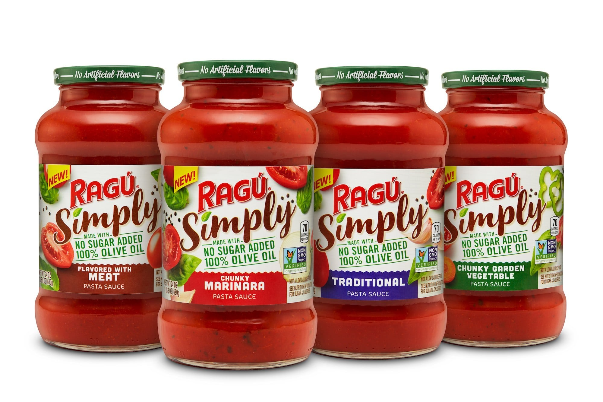 Ragu Launches Simply Pasta Sauce Line
