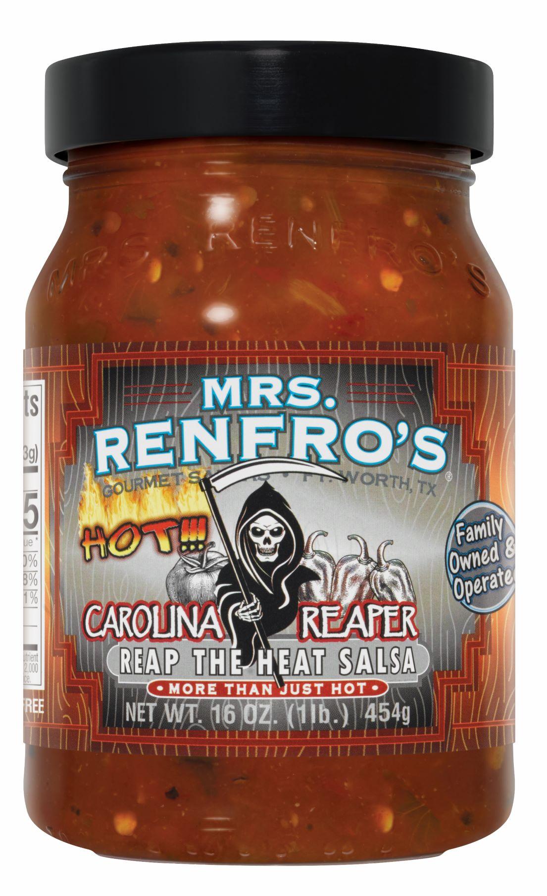 Renfro Foods Releases Mrs. Renfro's Carolina Reaper Salsa