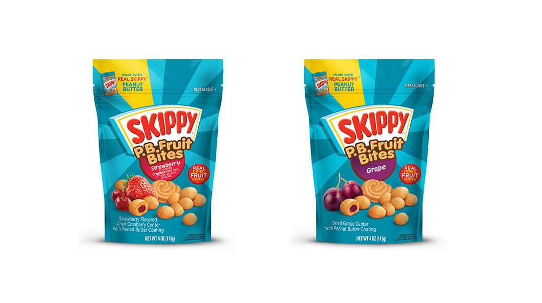 Hormel Foods Launches Skippy P.B. Fruit Bites