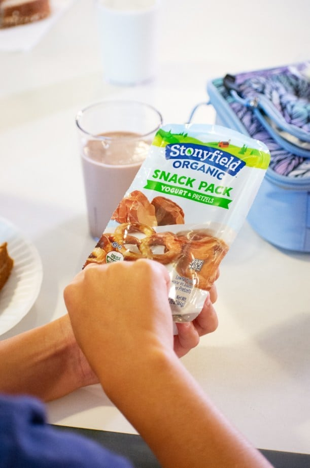 Stonyfield Organic Launches Snack Packs