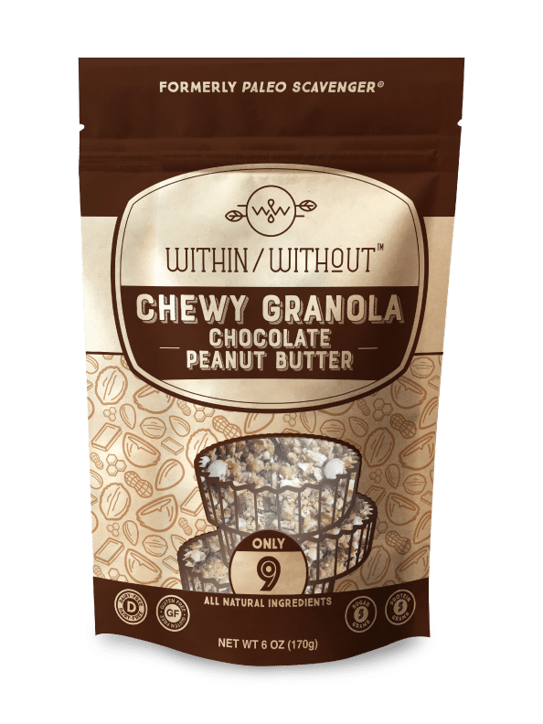 Within/Without Debuts Chewy Chocolate Peanut Butter Granola