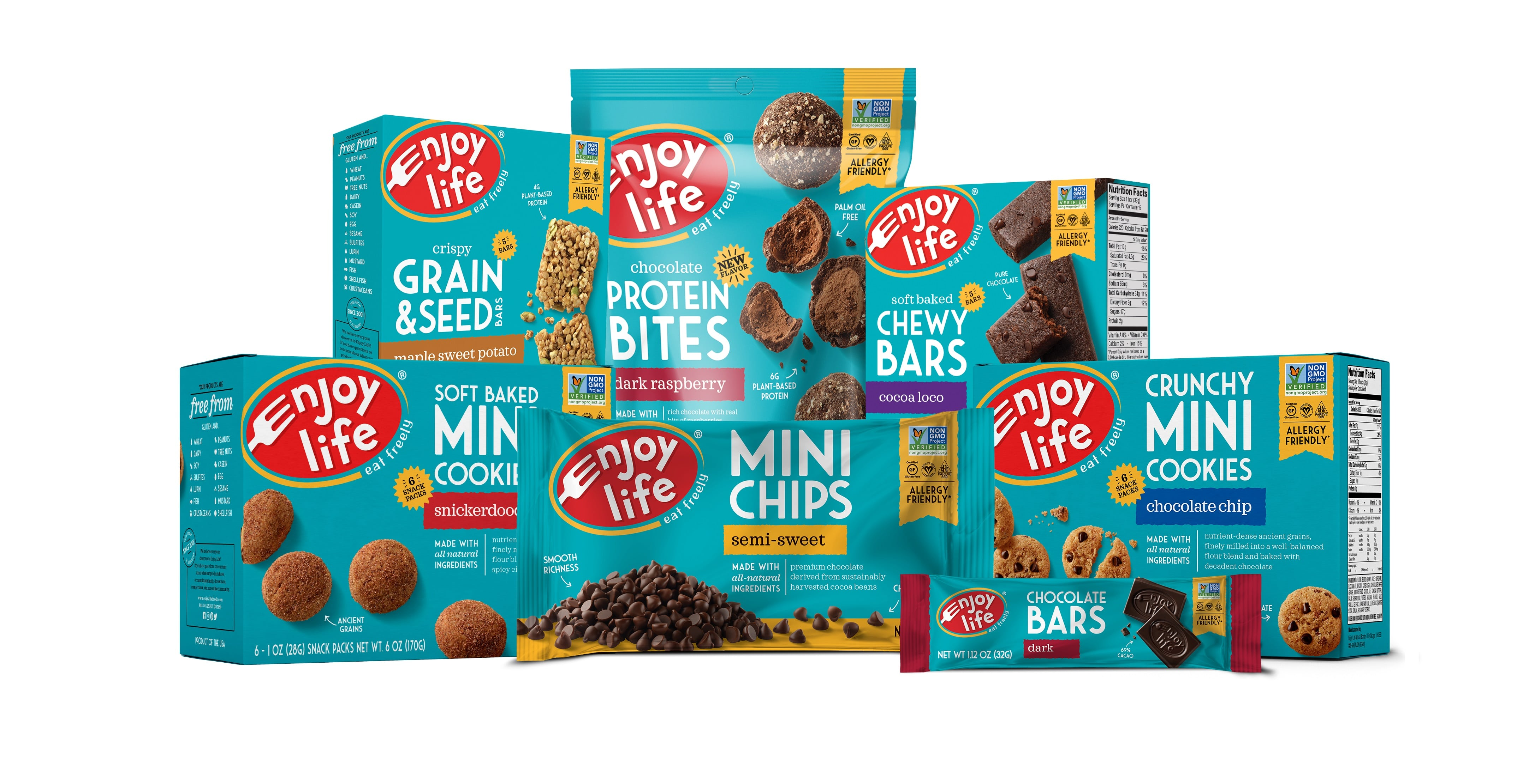 Enjoy Life Foods to Launch Soft-Baked Breakfast Ovals at Expo East