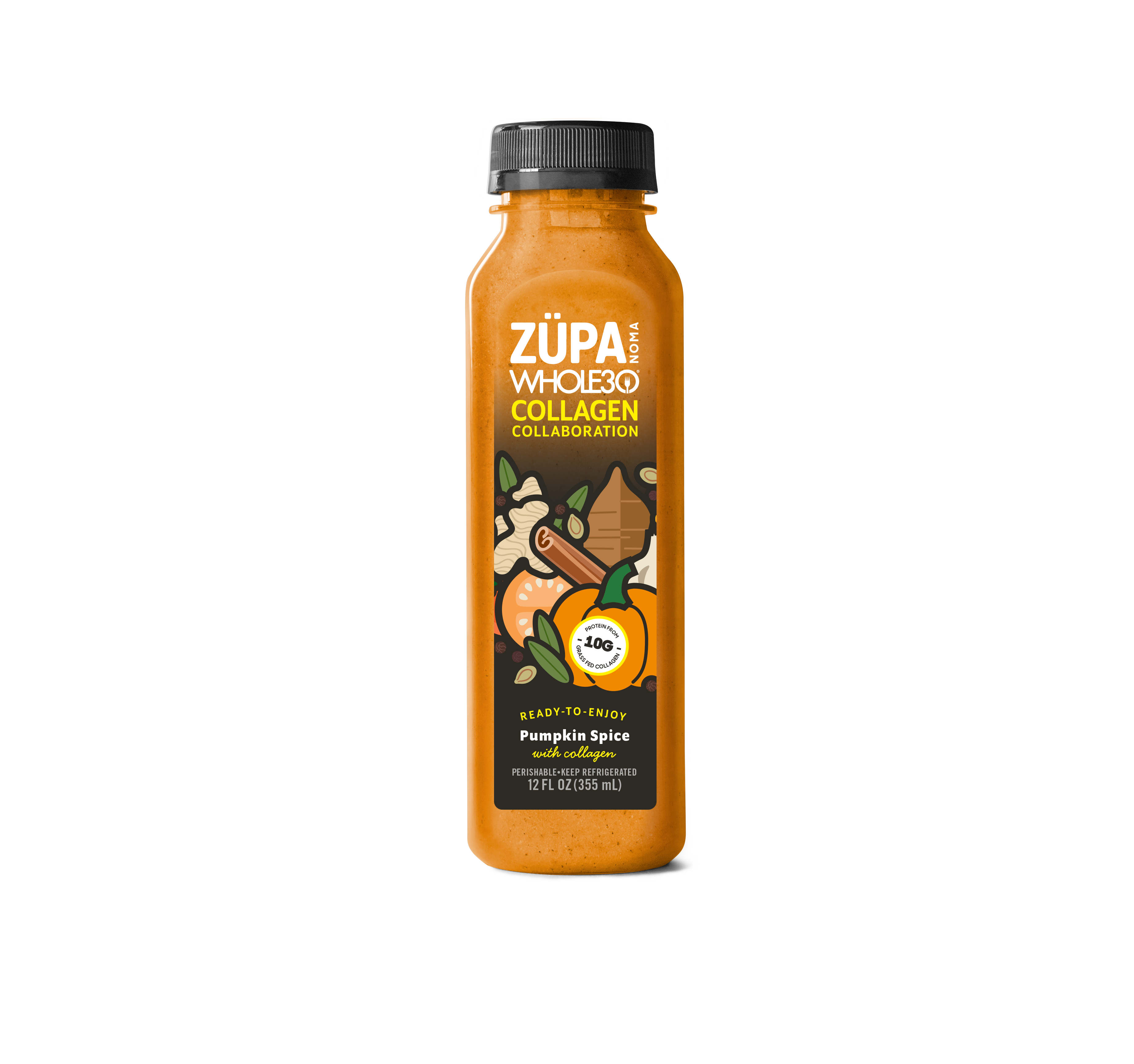 Zupa Noma Launches Pumpkin Spice with Collagen Flavor