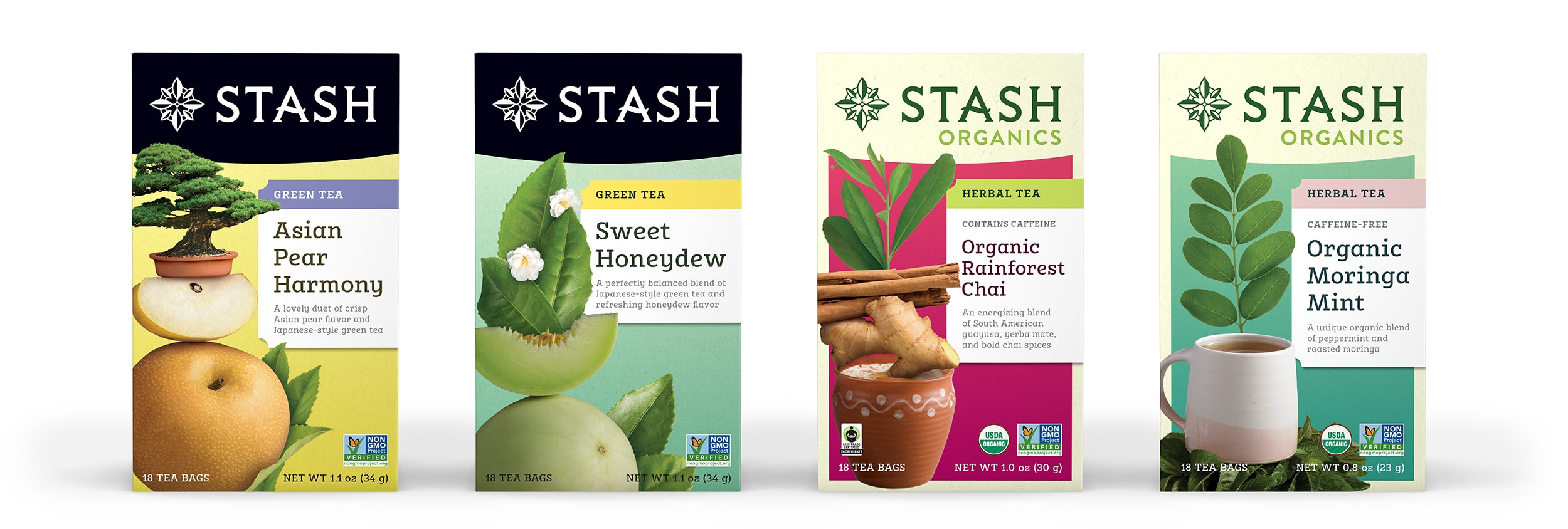 Stash Tea Introduces 4 New Teas