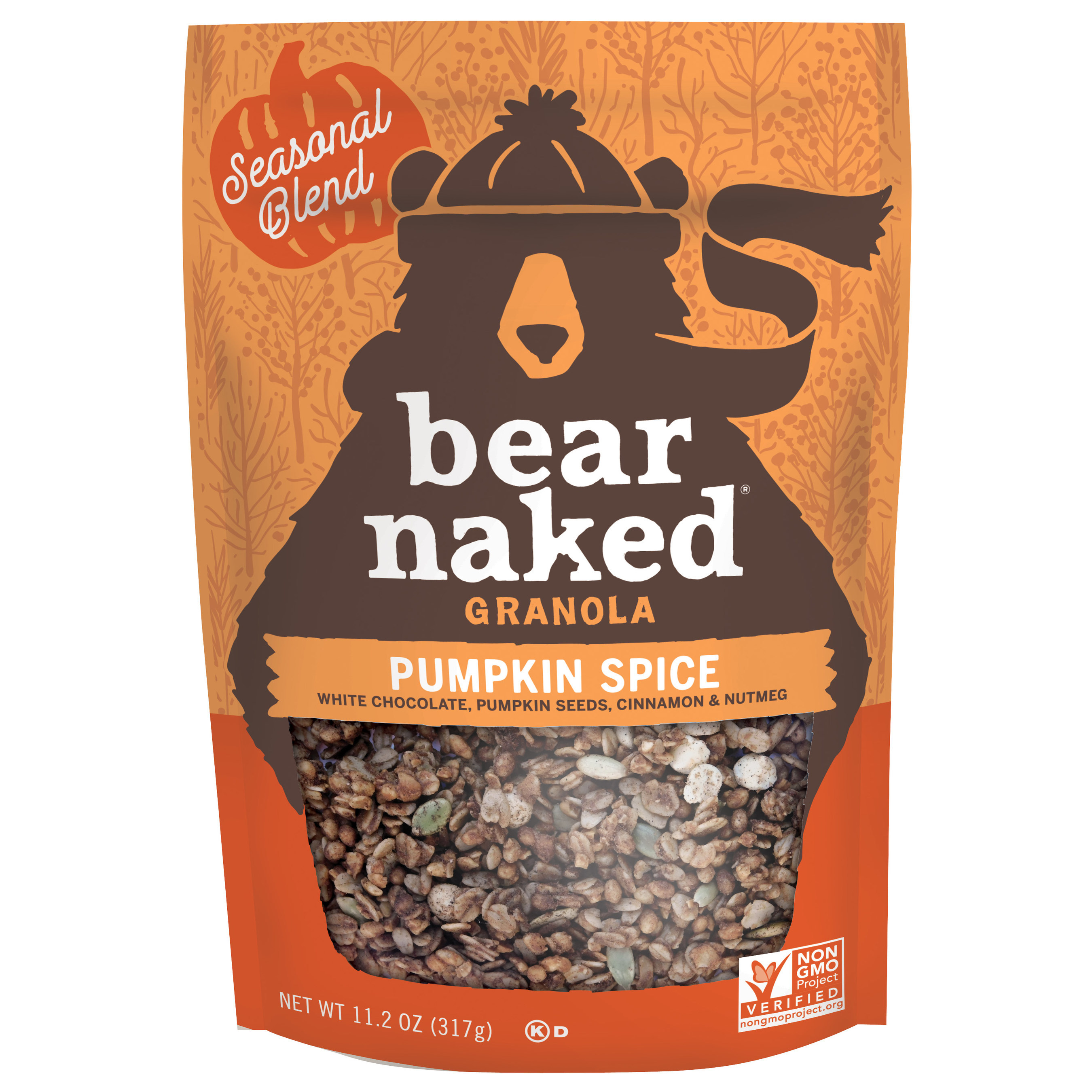 Bear Naked Launches Pumpkin Spice and Pecan Pie Granola