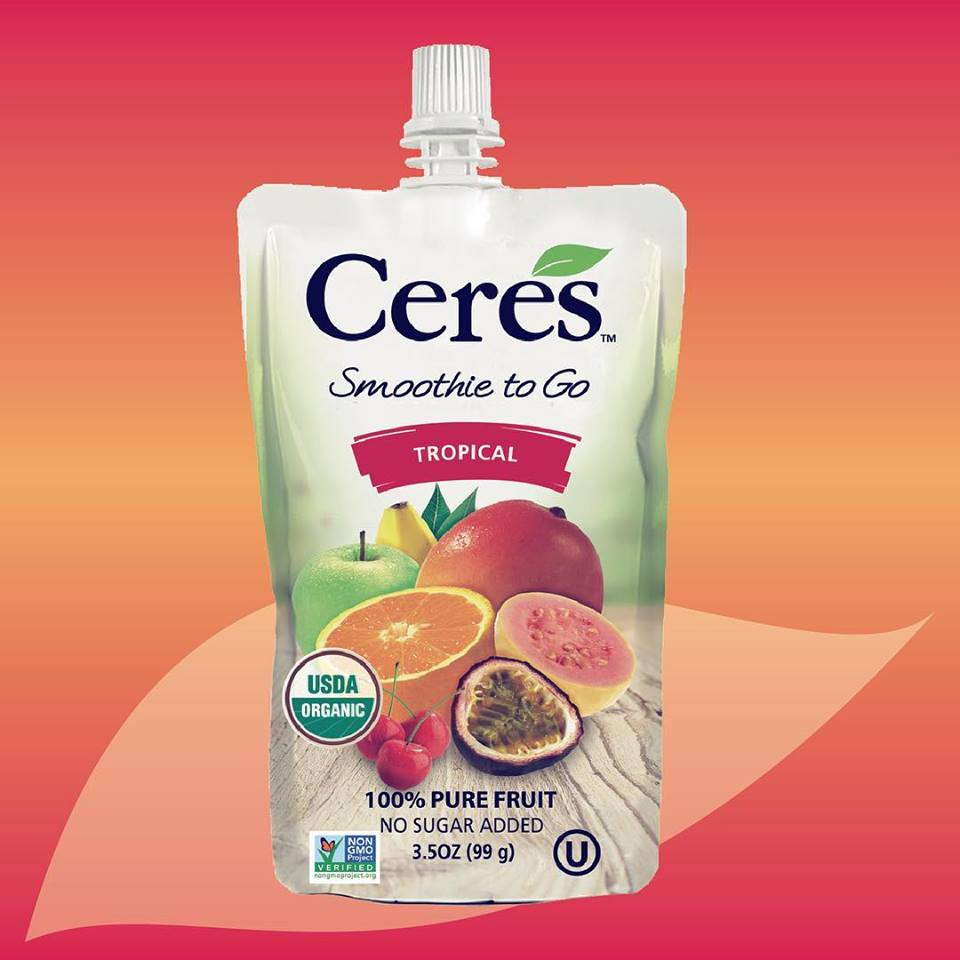 Ceres to Unveil 'Smoothie to Go' Line at Expo East