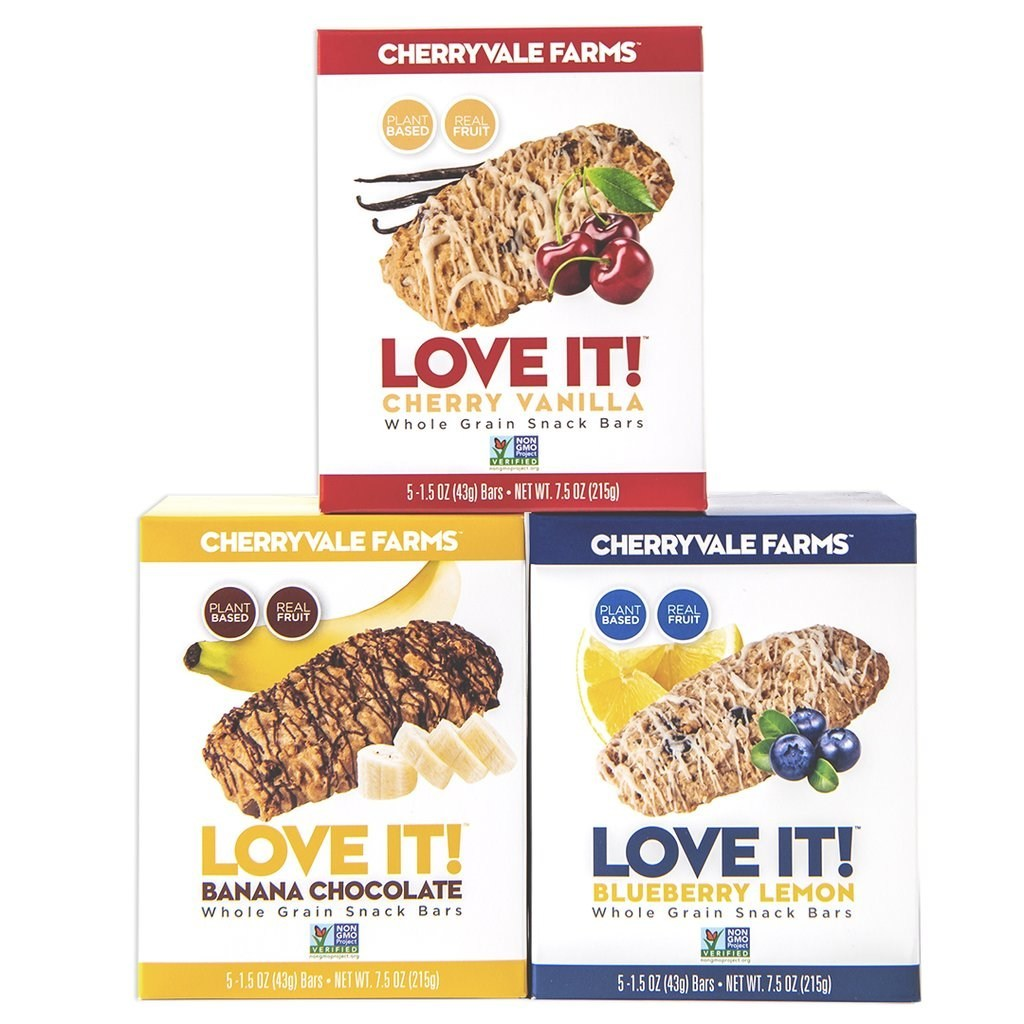 Cherryvale Farms Introduces Love It! Whole Grain Snack Bars