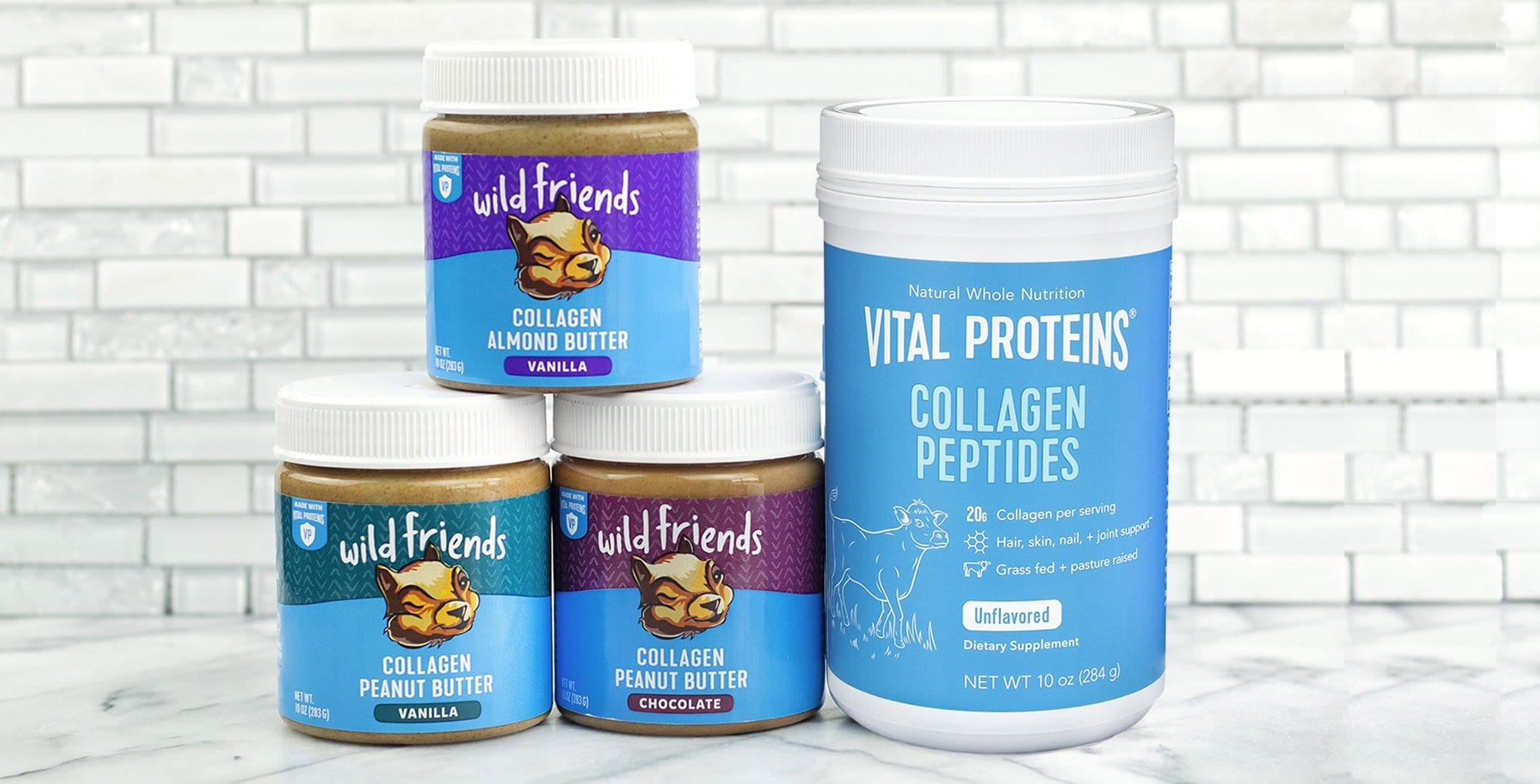 Wild Friends Launches Collagen Nut Butters