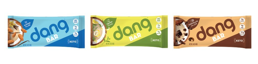 Dang Foods Launches New Line of Plant-Based, Keto-Certified Dang Bars