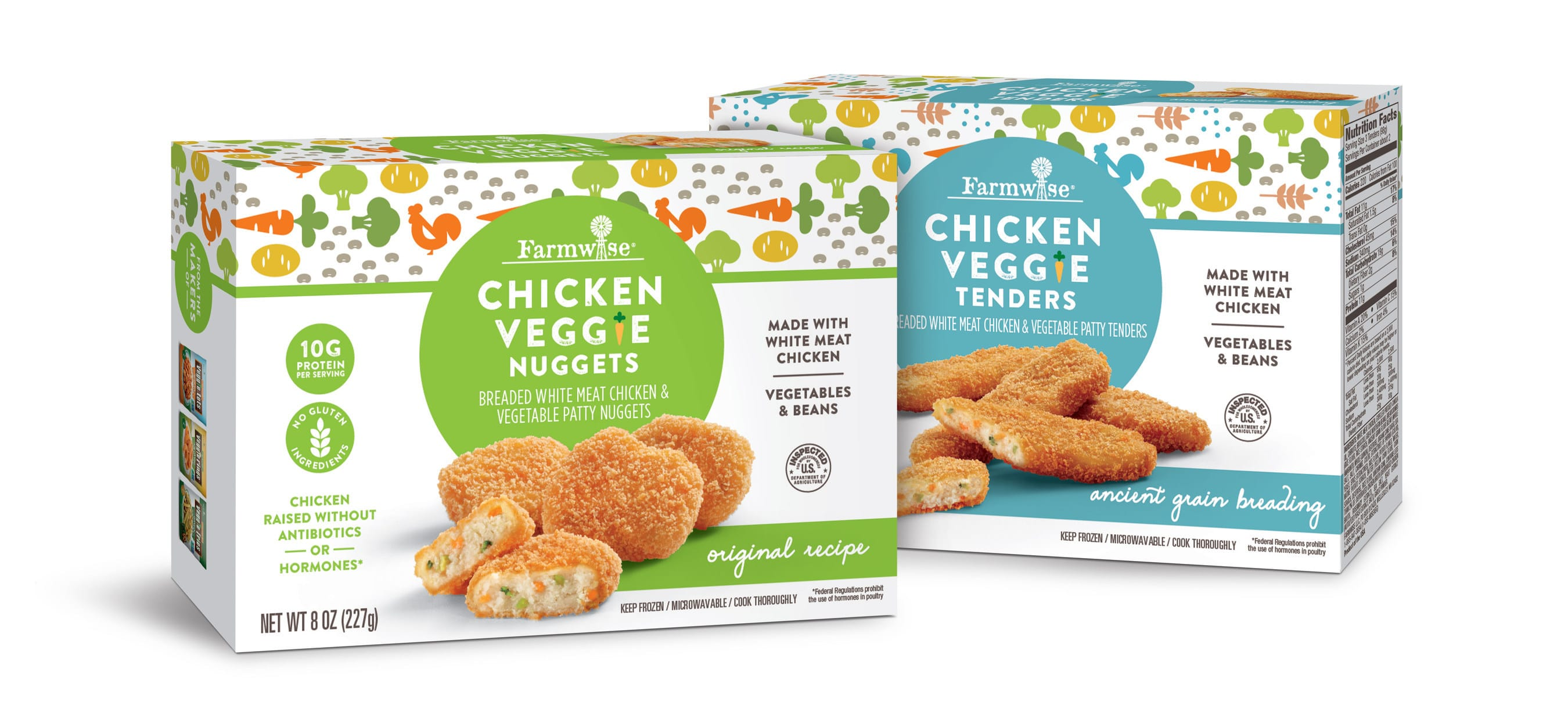 Farmwise Launches Chicken Veggie Nuggets and Tenders