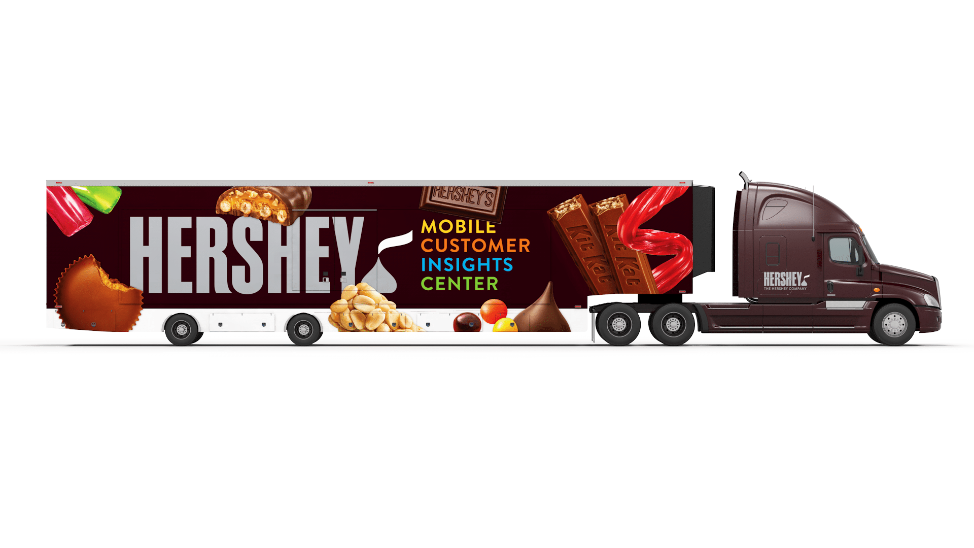 Hershey Unveils Mobile Customer Insights Center