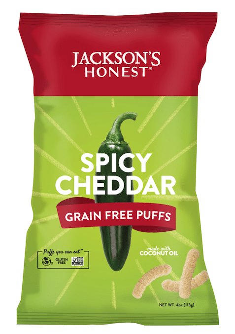Jackson's Honest Launches Grain Free Snack Puffs Line
