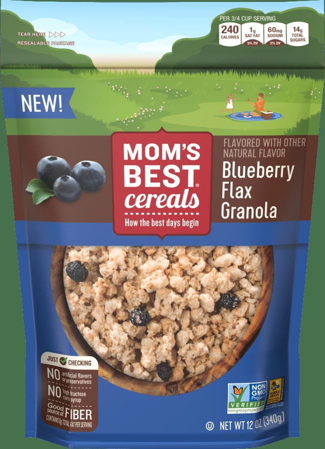 Mom's Best Debuts Four Non-GMO Granola Flavors