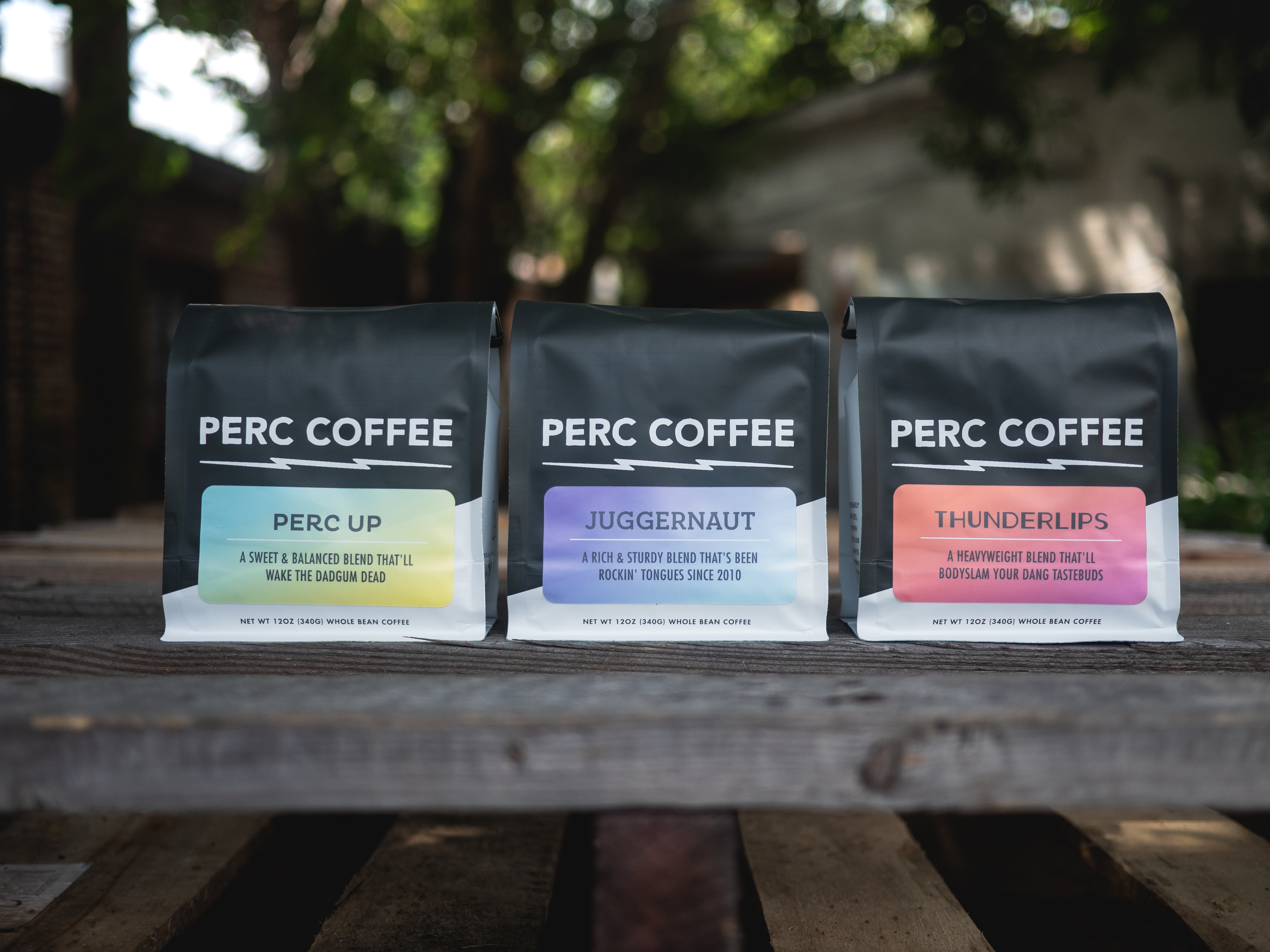 Perc Coffee Debuts New Label Designs