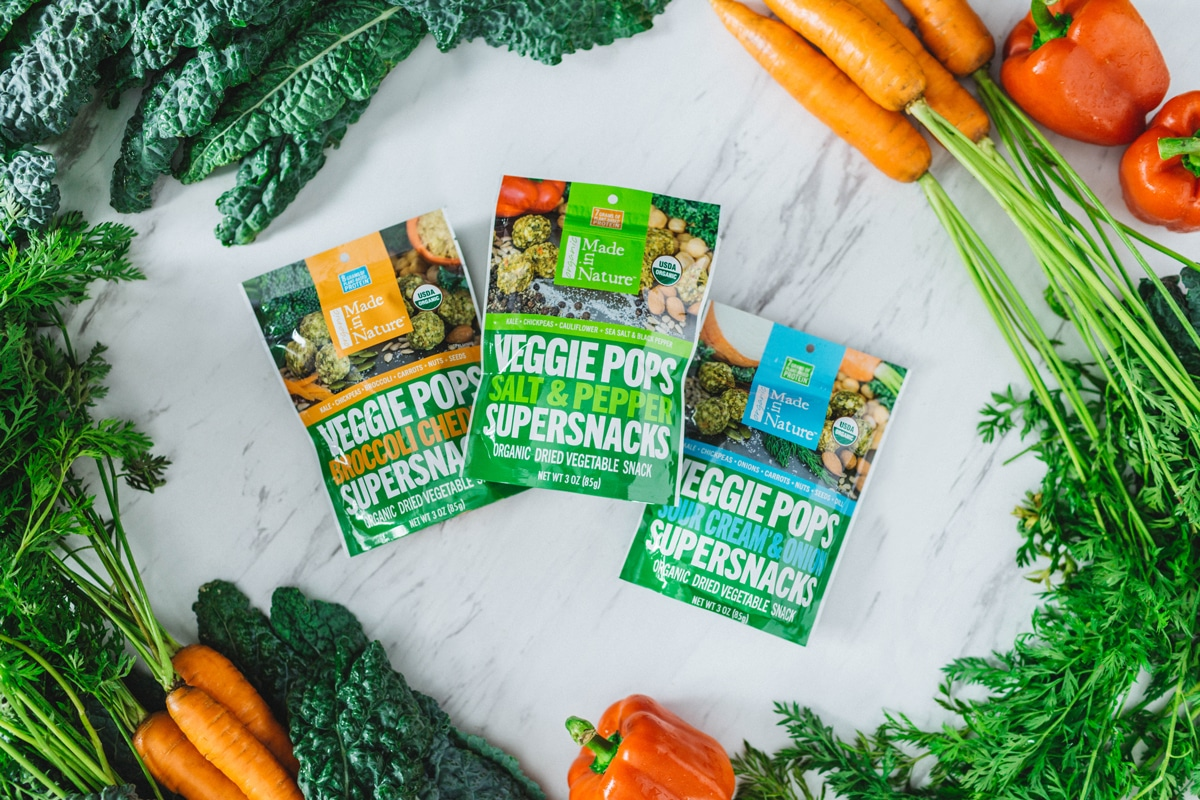 Made In Nature Launches Veggie Pops