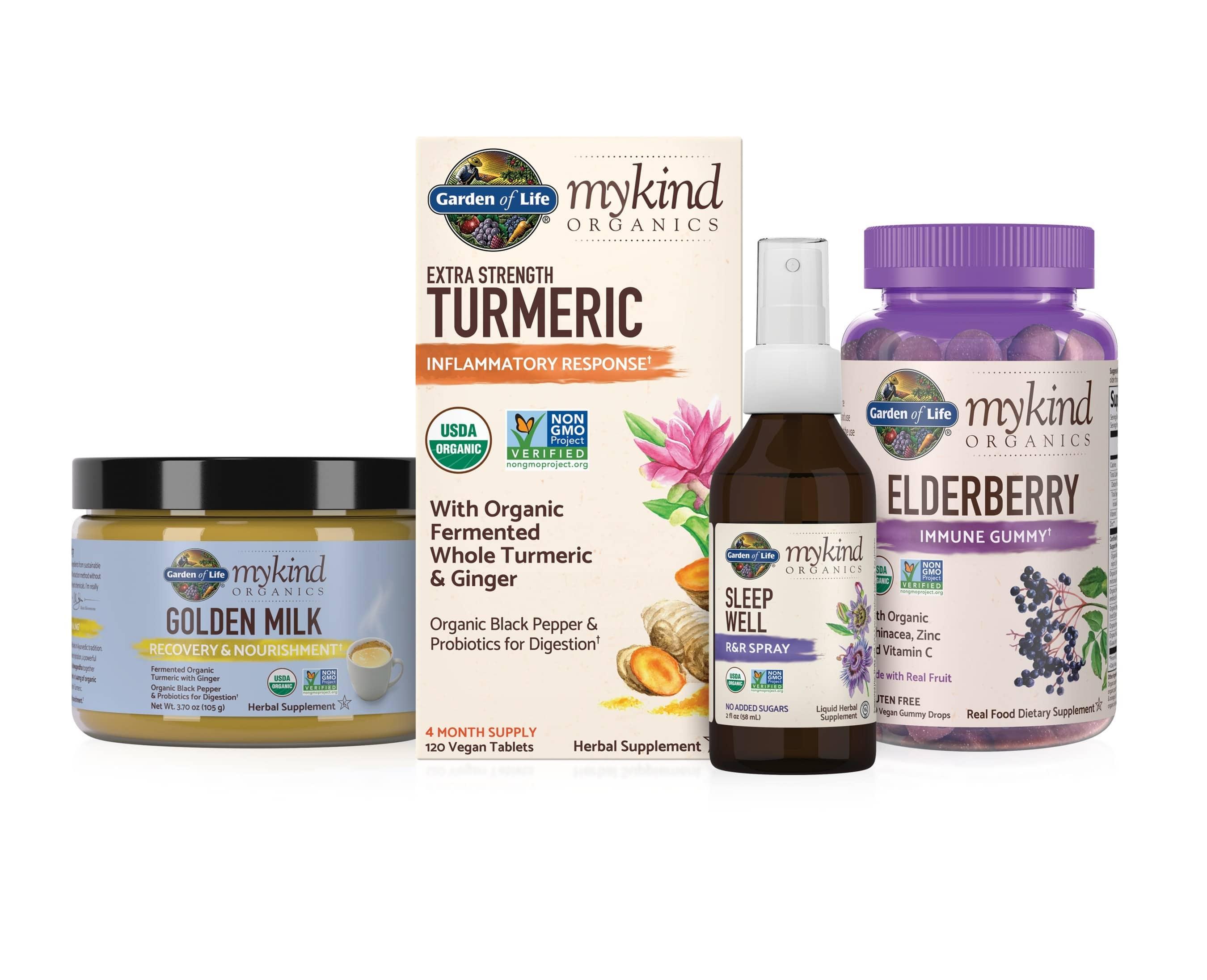 Garden of Life and Alicia Silverstone Launch mykind Organics Herbals