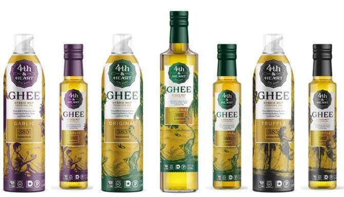 Fourth & Heart to Introduce Hybrid Ghee MCT Cooking Oils & Sprays