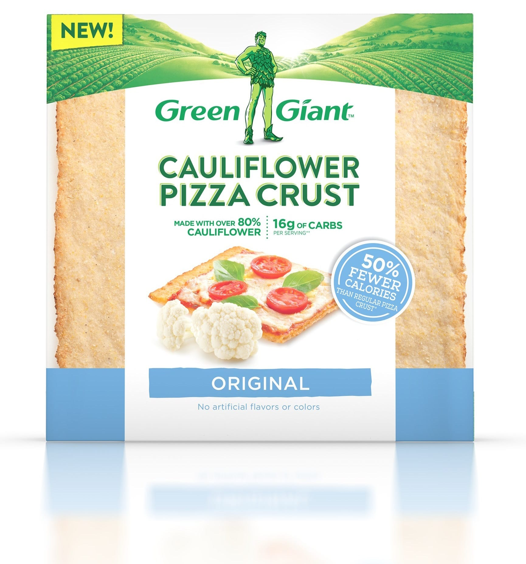 Green Giant Launches Cauliflower Pizza Crusts