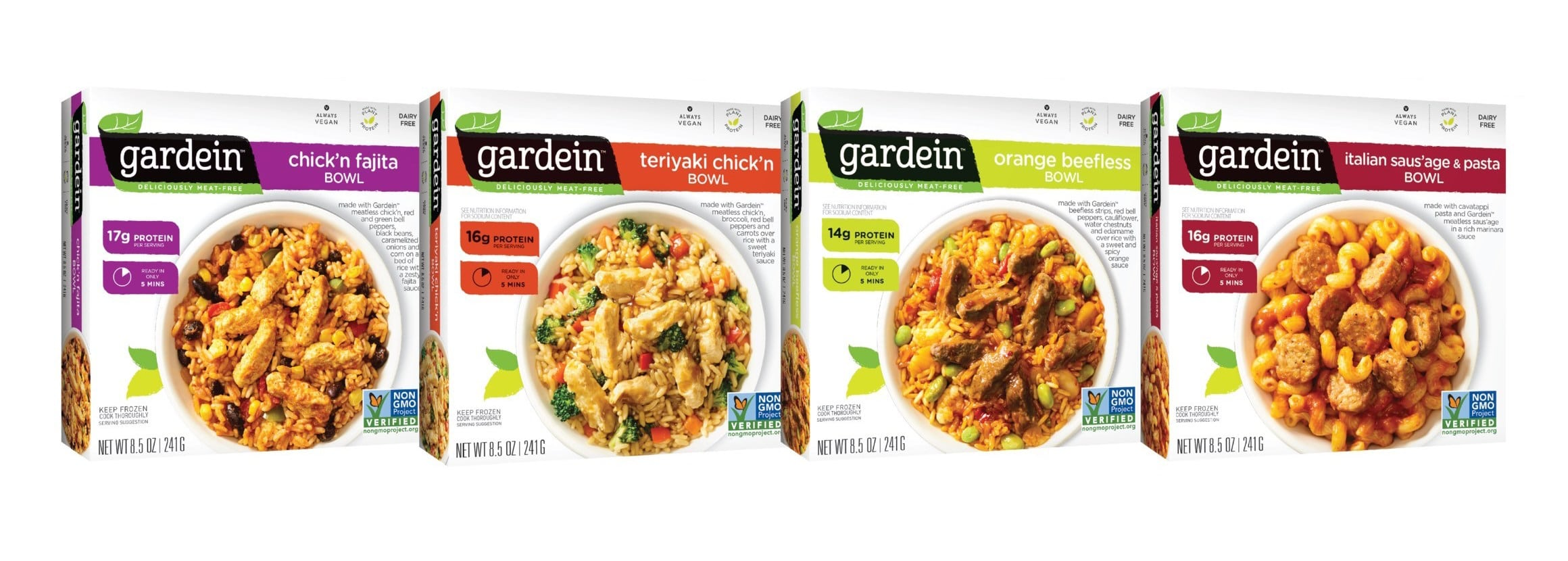 Gardein Expands Plant-Based Offerings with the Launch of Single Serve Bowls and Breakfast Saus'age Pattie
