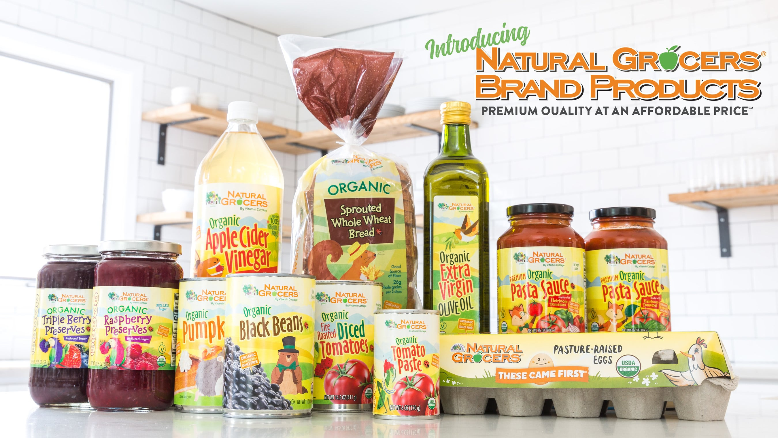 Natural Grocers Launches New Organic Private Label Products