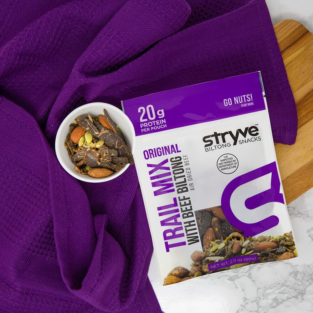 Stryve Biltong Launches First-Ever Trail Mix with Beef Biltong