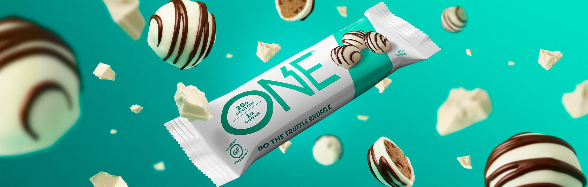 ONE Brands Debuts White Chocolate Truffle Bar