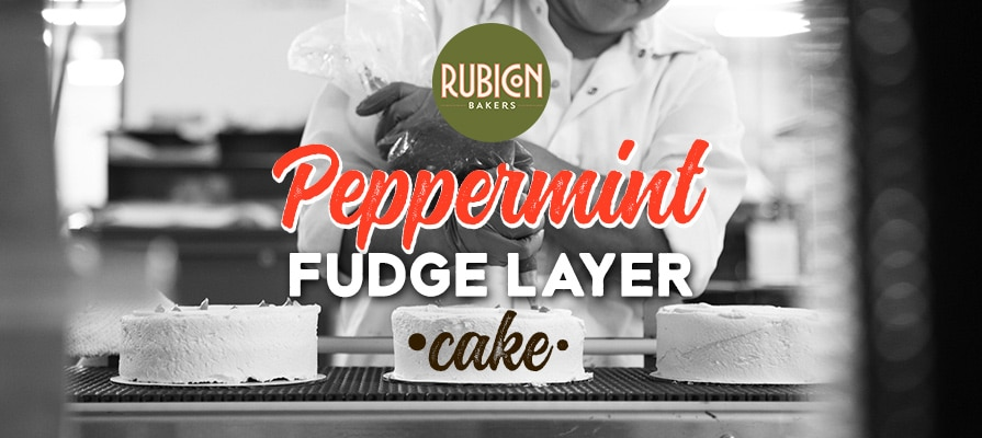 Rubicon Bakers Launches New Peppermint Fudge Cake for the Holidays