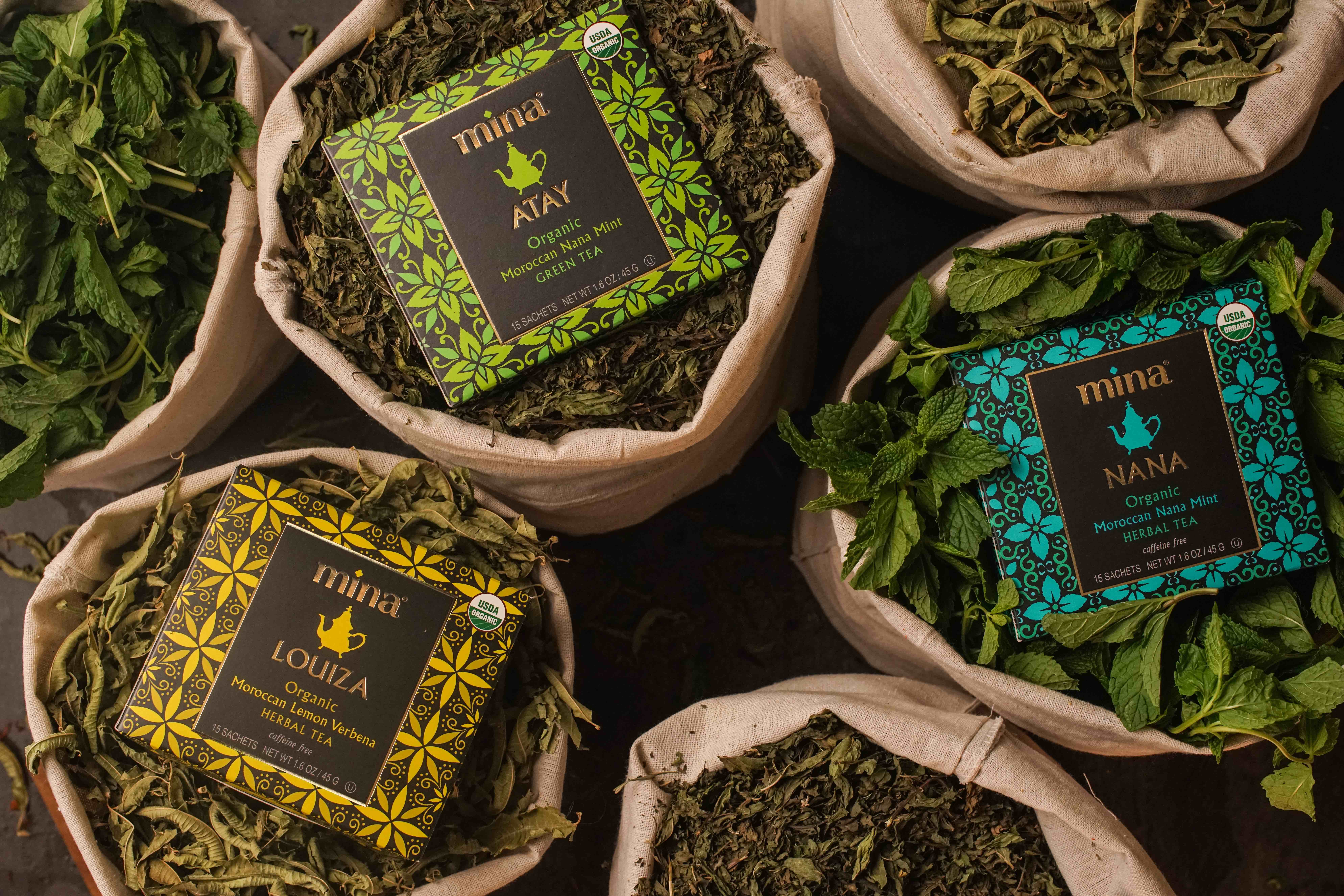 Mina Introduces Range of Organic Moroccan Teas