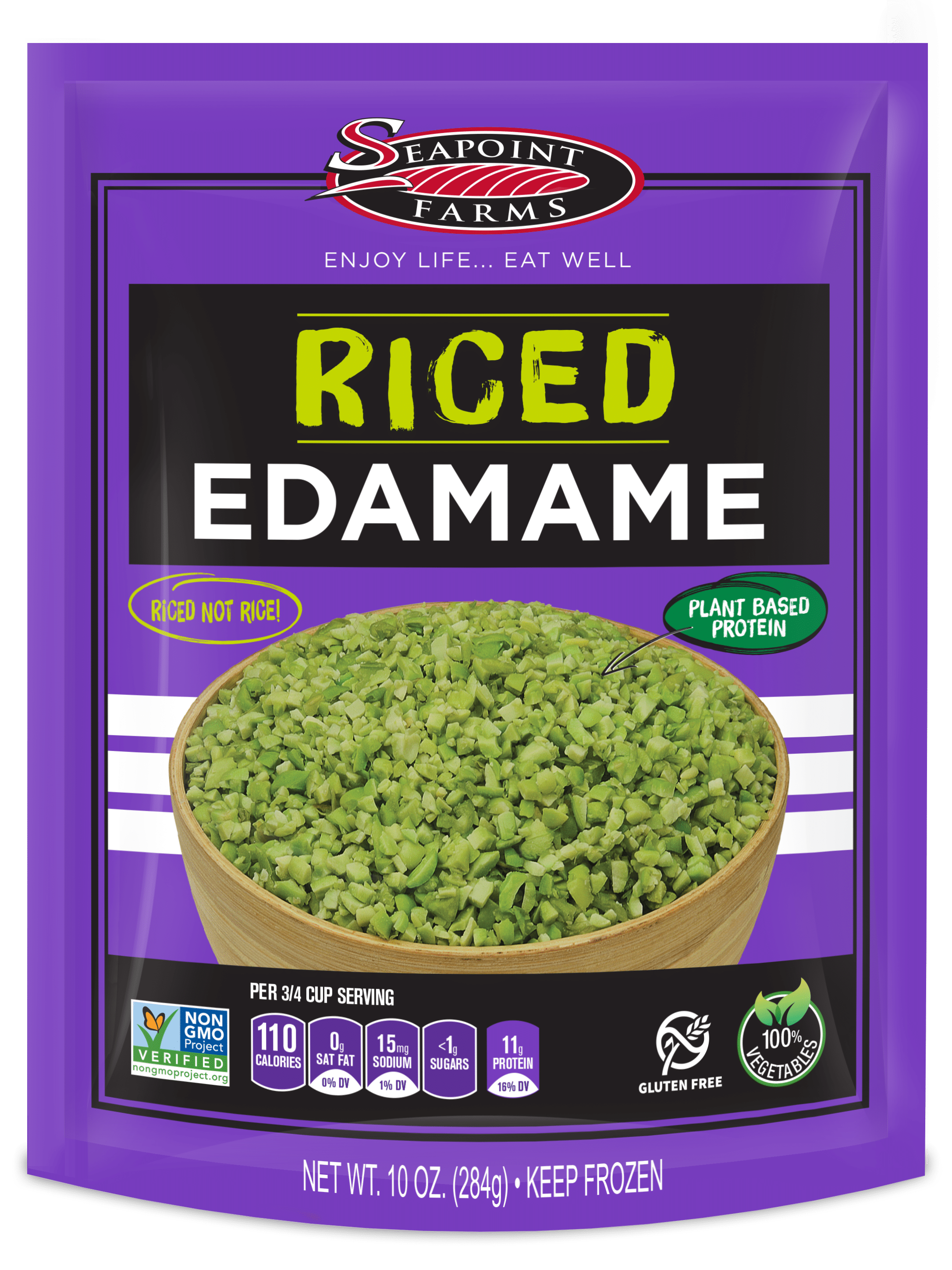 Seapoint Farms Introduces Riced, Edamame-Based Rice Alternatives