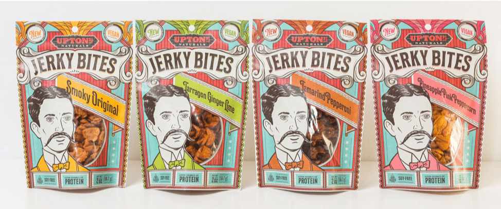 Upton's Naturals Launches New Vegan Jerky Bites