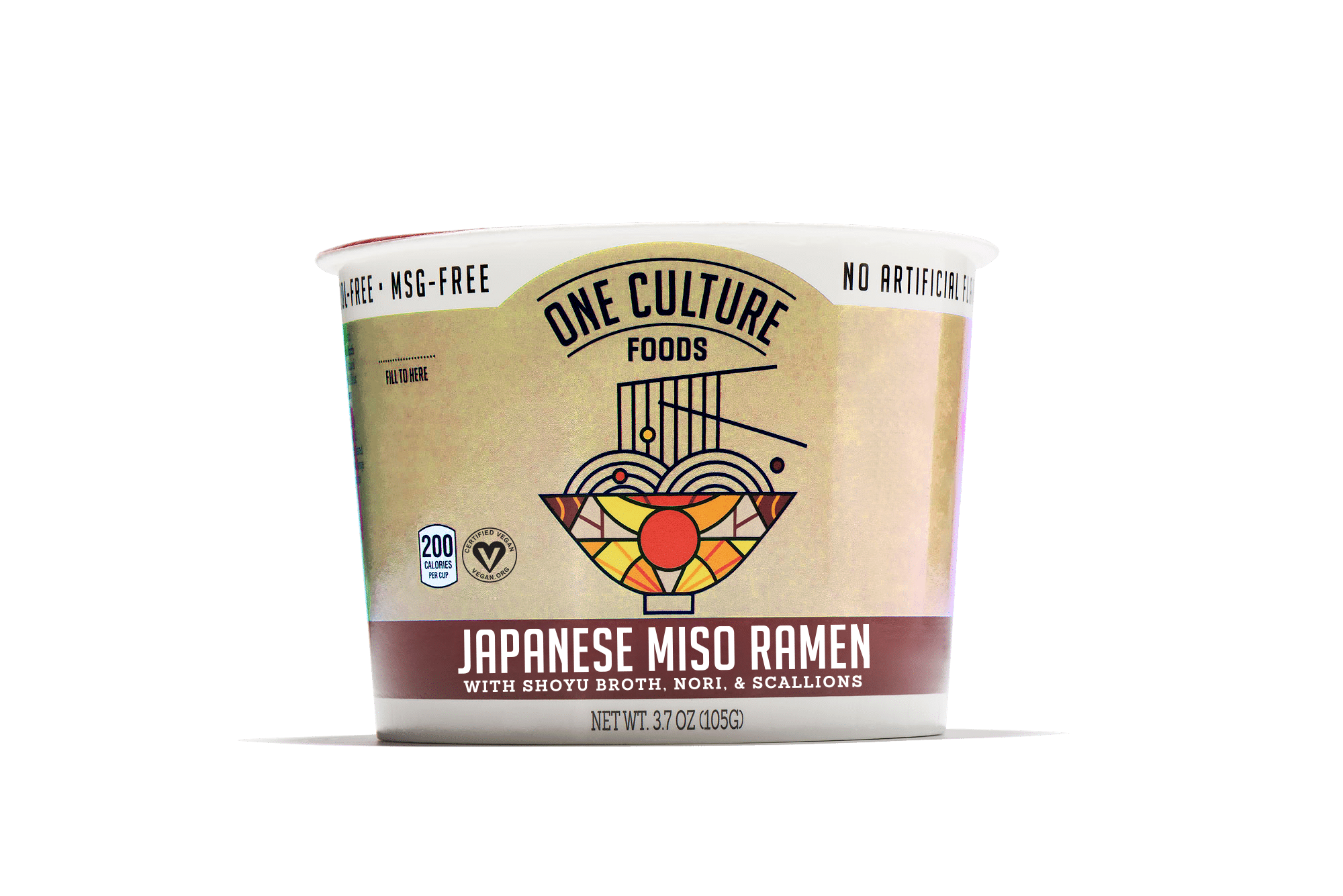 One Culture Foods Launching Two New Instant Noodle Cup Flavors at Expo West