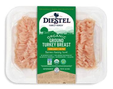 Diestel Launches Fresh Ground Turkey Products
