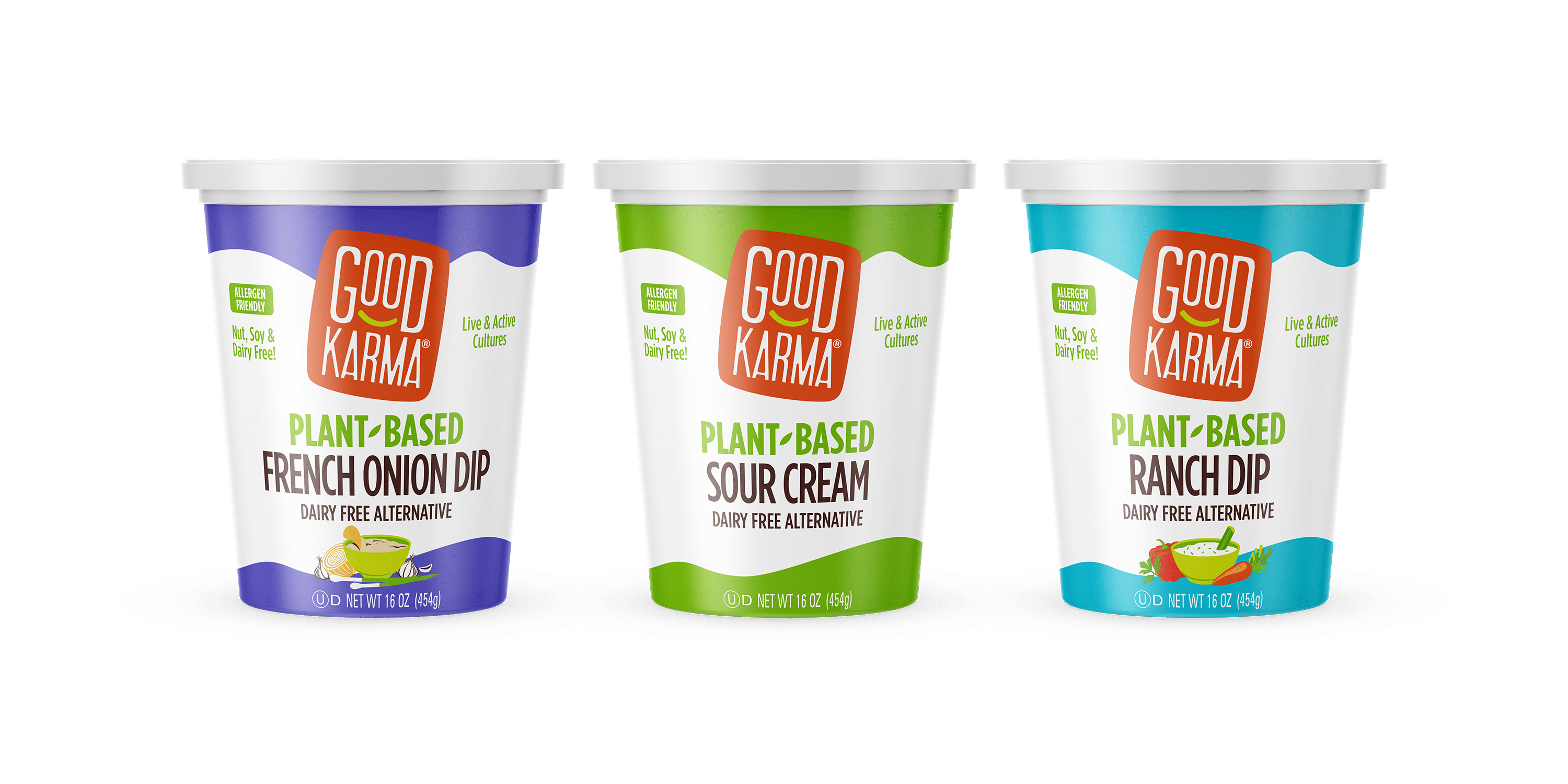 Good Karma Foods Announces Launch of Plant-Based Dips and Sour Cream