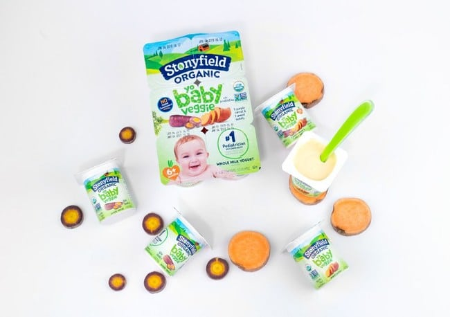 Stonyfield Organic Introduces YoBaby Veggie
