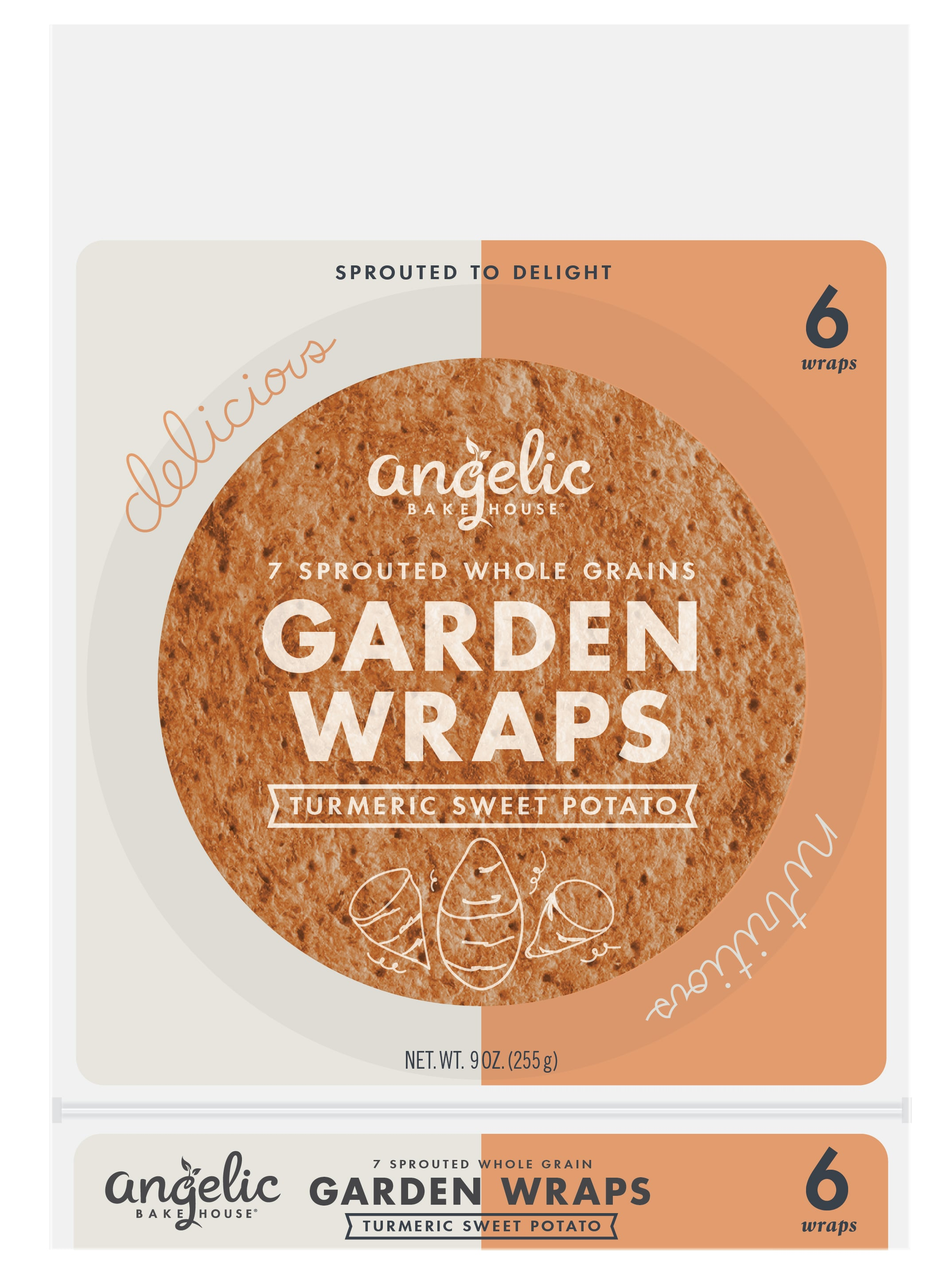 Angelic Bakehouse To Unveil New Packaging, Veggie Wraps at Expo West