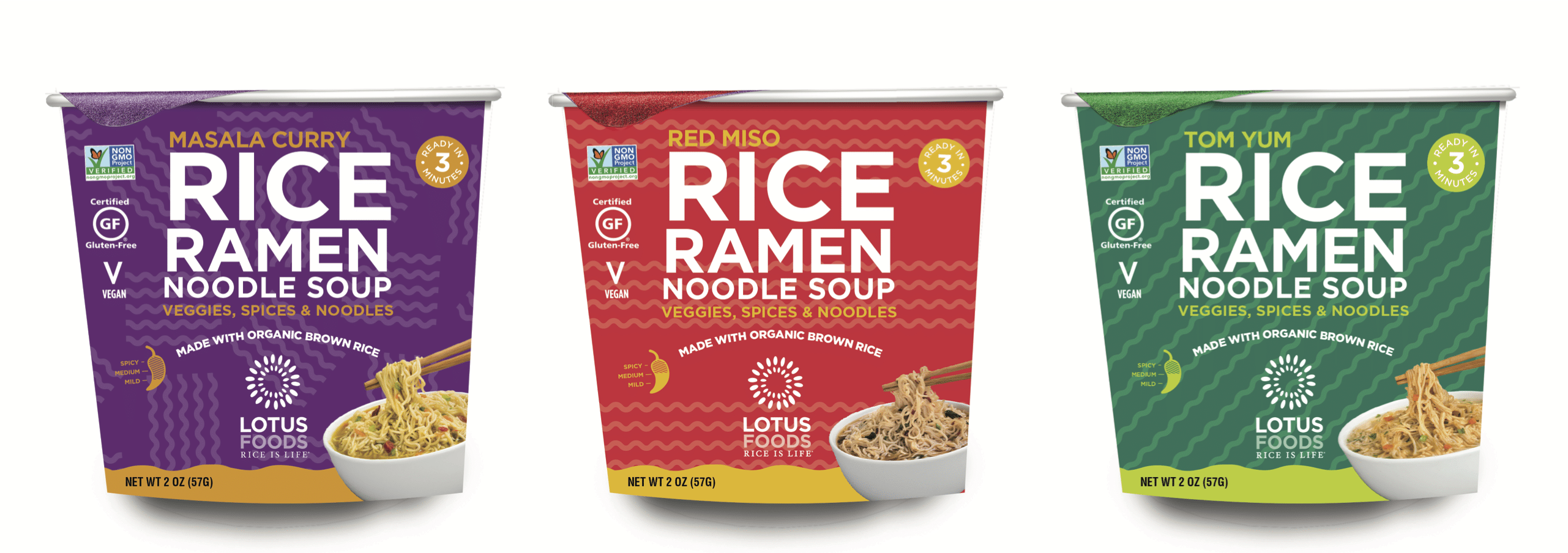 Lotus Foods Launches New Microwaveable Cup