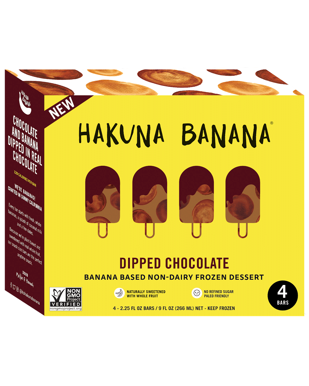 Hakuna Banana Launches Novelty Bars, Expands Distribution