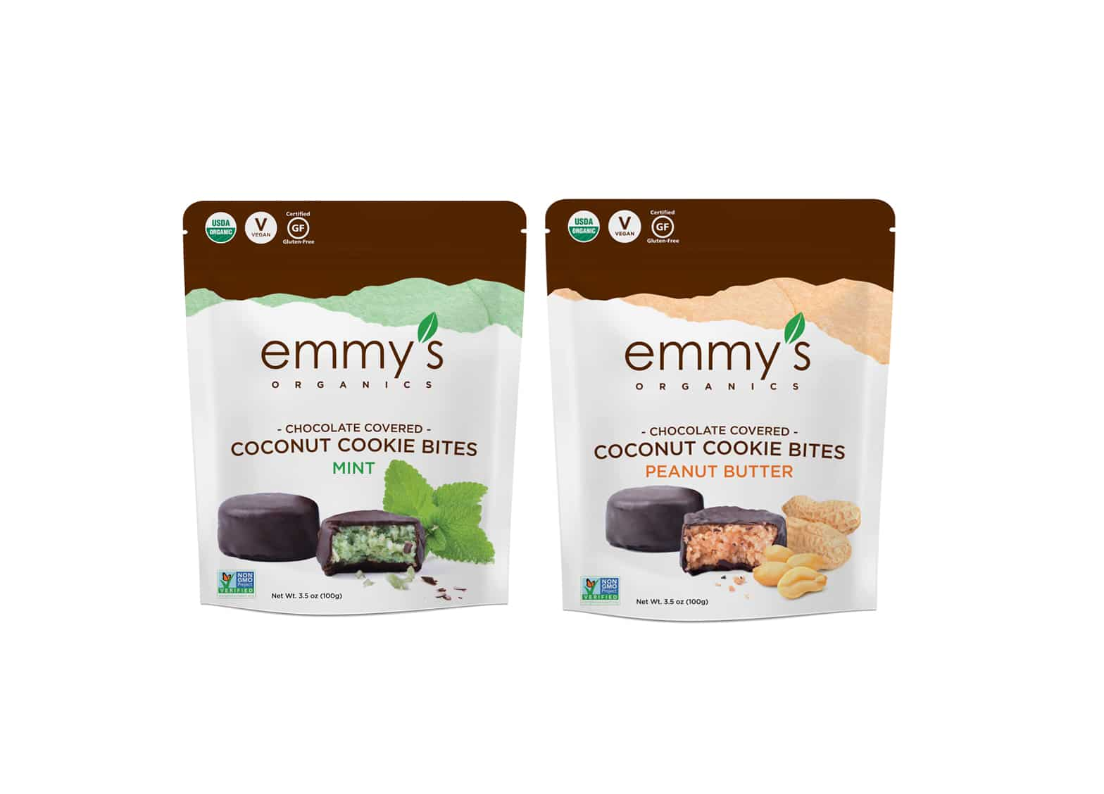 Emmy's Organics to Launch Chocolate Covered Cookie Bites at Expo West