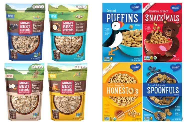 Three Sisters Debuts New Look for Barbara's Cereal Portfolio, New Mom's Best Granola Line