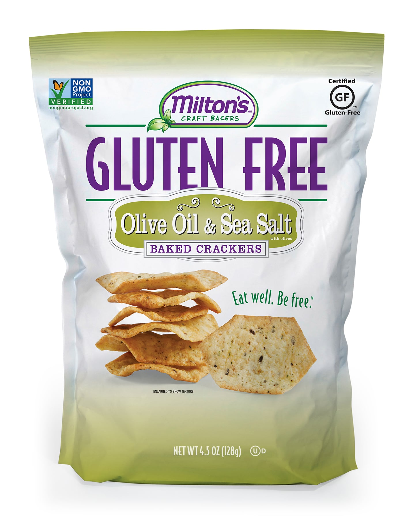 Milton's Adds Two New Varieties to Gluten Free Cracker Line