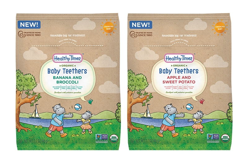Healthy Times Debuts Organic Baby Teethers