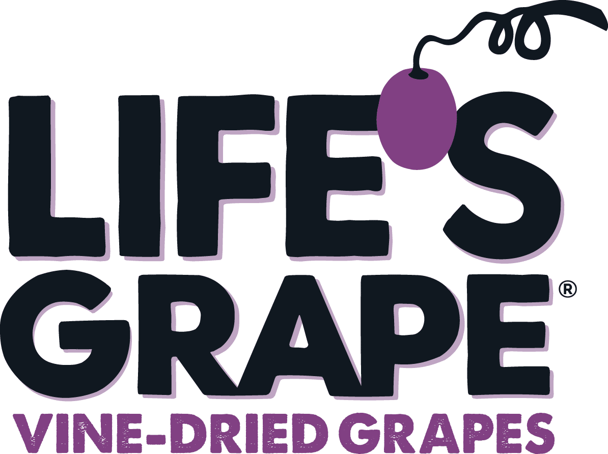 Life's Grape Launches Vine-Dried Grape Snack Line