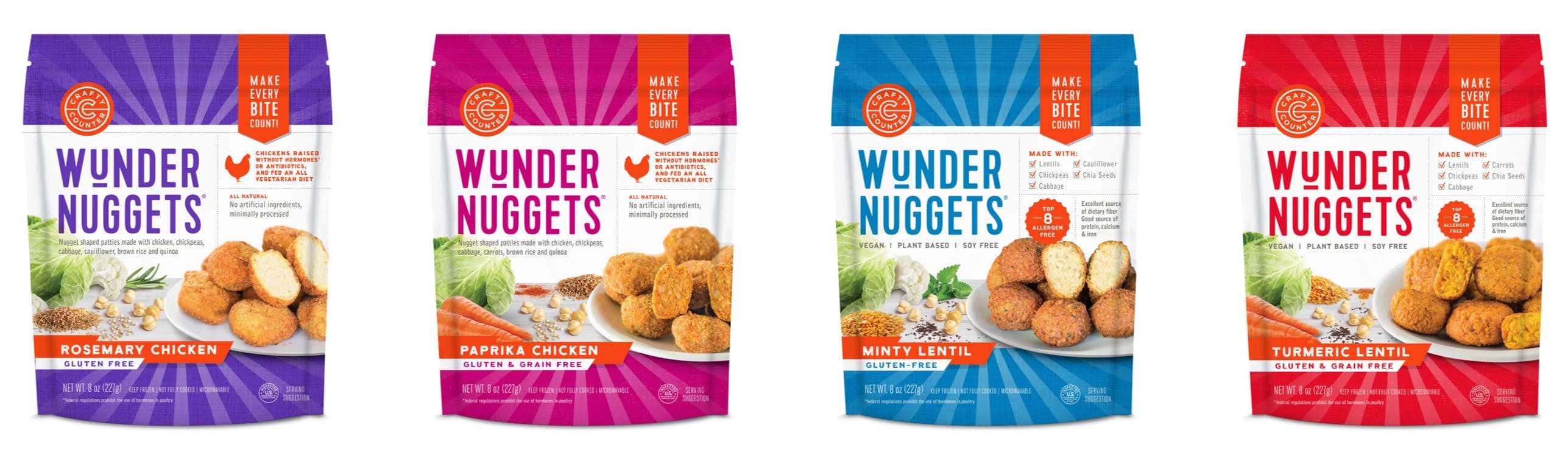 Crafty Counter Announces Two New Wundernuggets Flavors, New Packaging