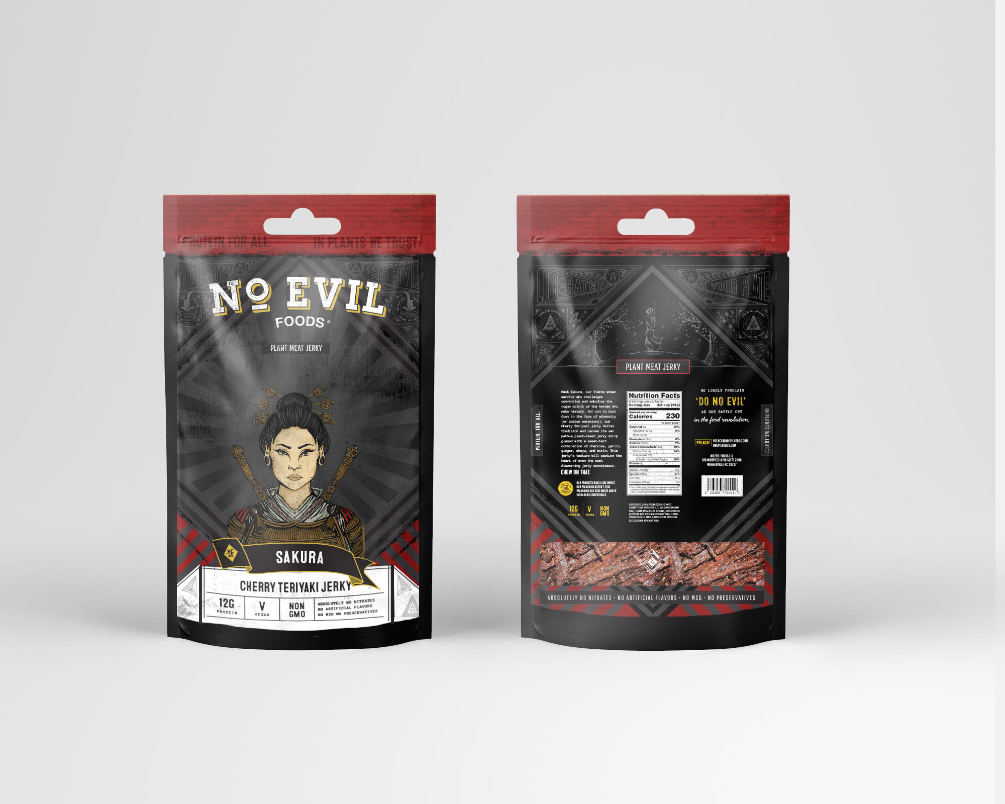 No Evil Foods Unveils New Vegan Jerky at Expo West