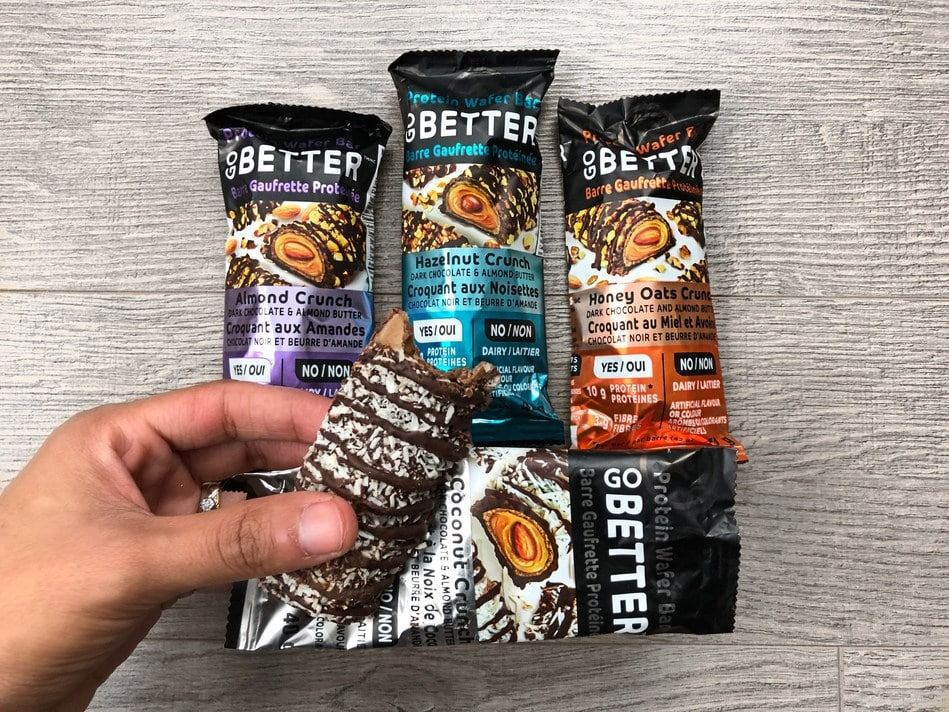 Being Better Matters, Inc Launches Go Better Protein Wafer Bars