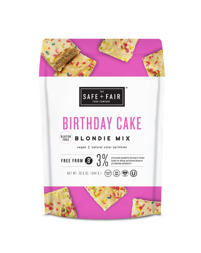 The Safe + Fair Food Company Introduces New Line of Top 8 Allergen-Free Baking Mixes