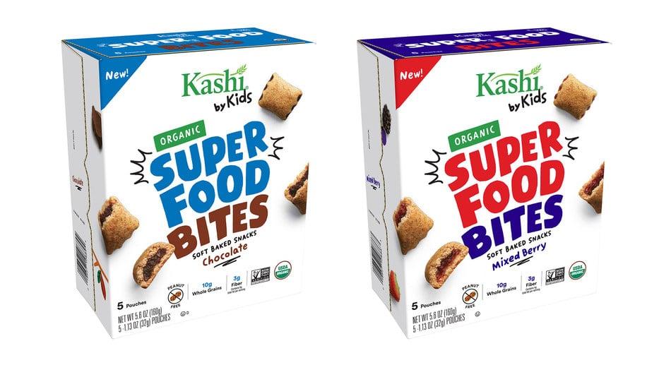 Kashi Expands Kashi by Kids Line with Super Food Bites